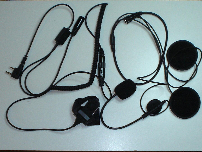 Maas Hs 4000 Pro K Micro Casque Moto Radio Media System